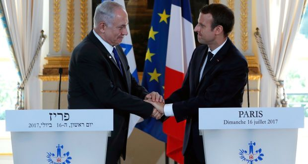 NetanyahuMacron2