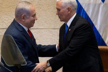 Benjamin-Netanyahu-Mike-Pence