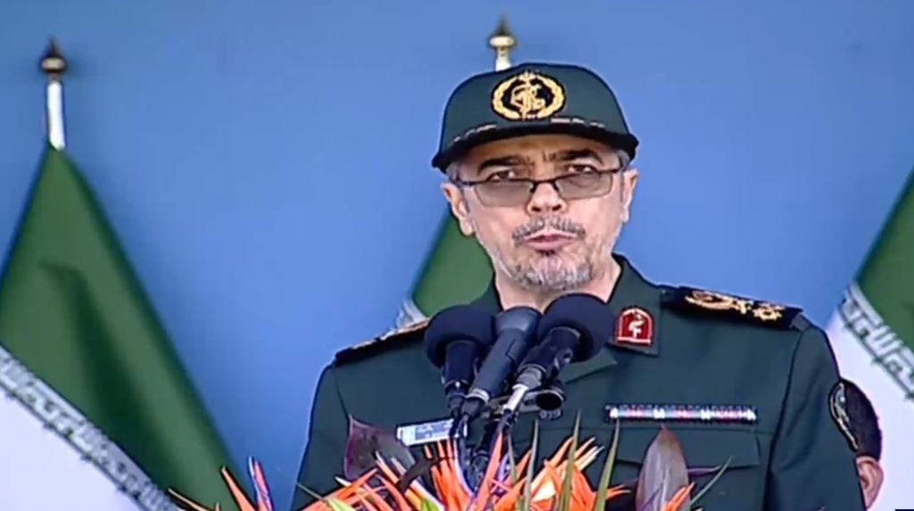IRANIAN ARMY COMMANDER OFFERS TO HELP POLICE SUPPRESS ...