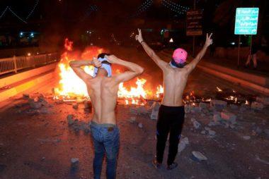 Iraq-oil-protest