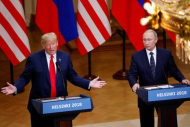 Image: Trump-Putin summit in Helsinki