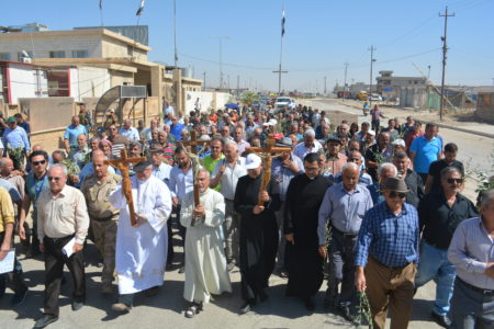 Trip to Iraq of Fr. Andrzej Halemba and John Pontifex September 2017