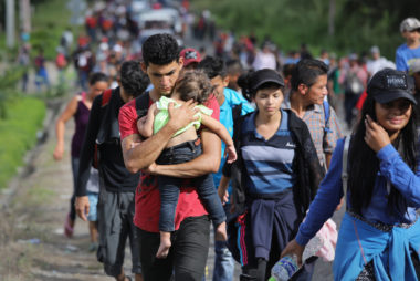 Image: Migrant Caravan Pushes North Into Guatemala