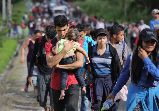 Image: Migrant Caravan Pushes North Into Guatemala