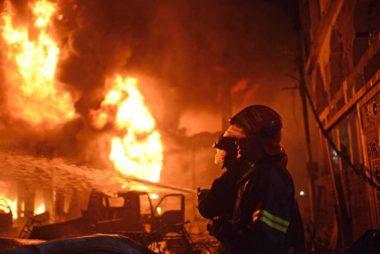 Dhaka blaze