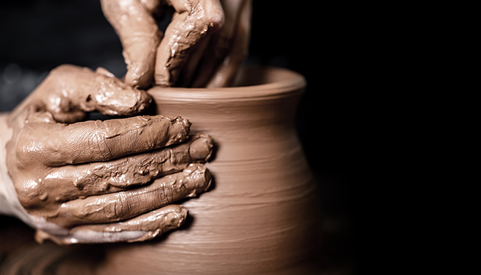 potters-wheel-clay