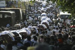 Mass funeral
