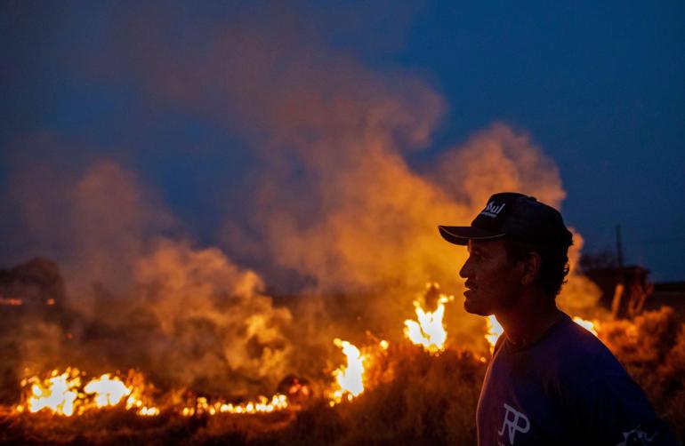 BRAZIL-FIRE-MATO GROSSO