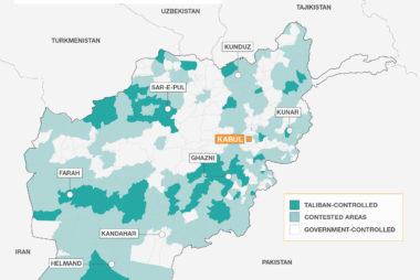 TALIBAN MAP