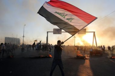 IRAQ PROTEST100