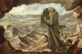 Elijah-at-Horeb