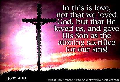 God loved first