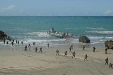 Aussie military drill