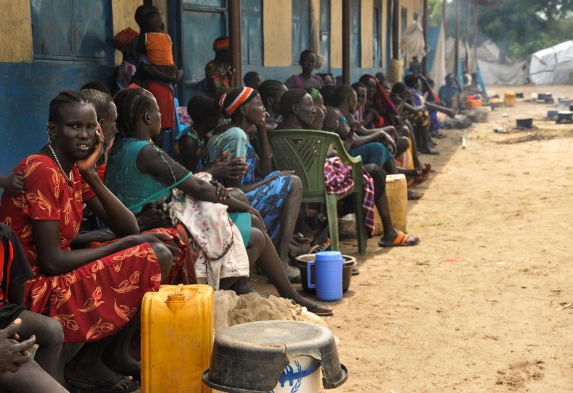 South Sudan aid